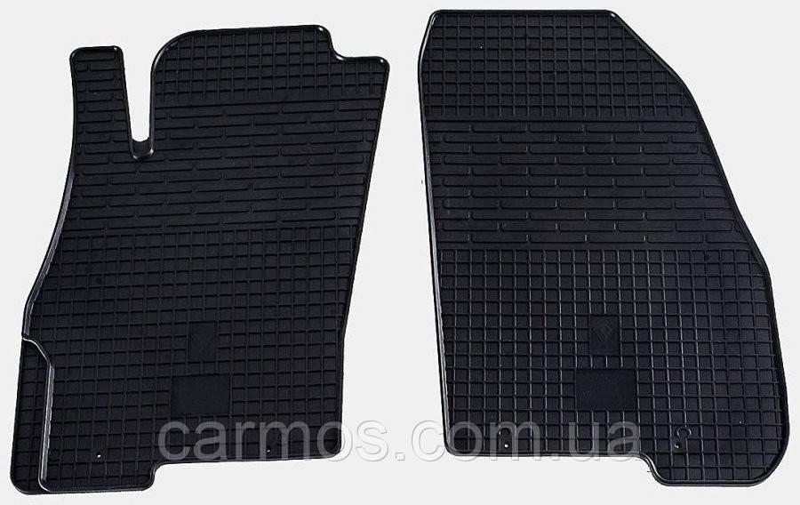 Ковры салона Fiat Punto 06-/12-/Fiat Linea 07-/Grande Punto 09-/Punto Evo 09- (передние-2шт)