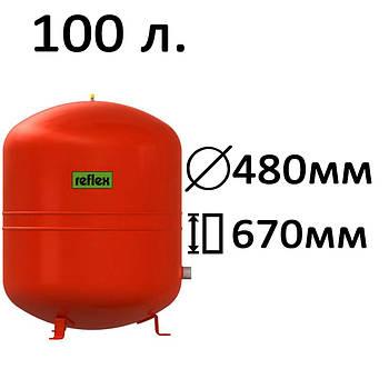 Расширительный бак вертикальный N,NG Reflex 100