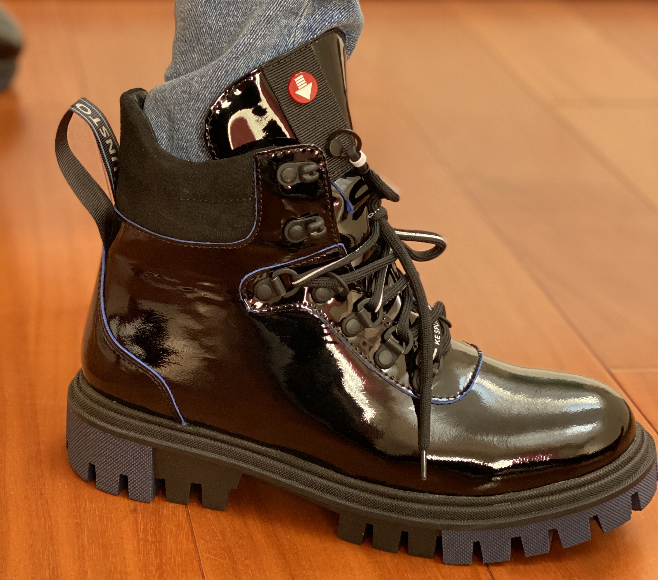 Мартінси жіночі чорні черевики