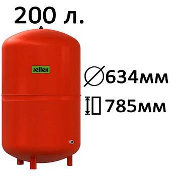 Расширительный бак вертикальный N,NG Reflex 200