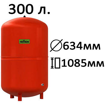 Расширительный бак вертикальный N,NG Reflex 300
