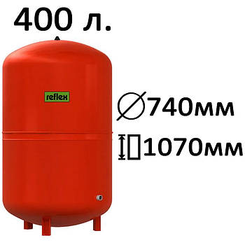 Расширительный бак вертикальный N,NG Reflex 400