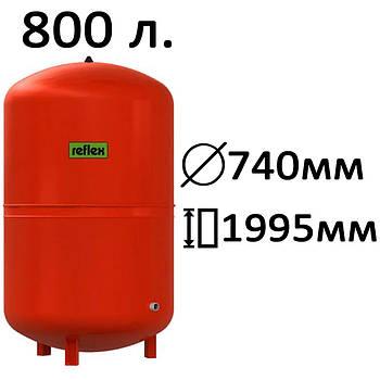 Расширительный бак вертикальный N,NG Reflex 800
