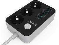Сетевой фильтр удлинитель с зарядкой USB LDNIO SE3631