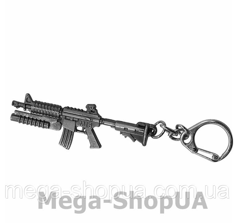 Брелок металлический для ключей автомат Counter Strike CS:GO / FC60