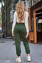 Теплые спортивные женские штаны на флисе SEV-1640.4317, фото 3