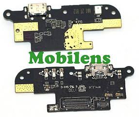 Meizu M6T, M811H Шлейф-плата з роз'ємом зарядки і мікрофоном