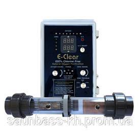 Система обеззараживания E-Clear до 75 м3 (MK7/CF1-75) Гидролиз + ионизация Cu