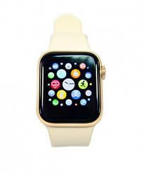 Умные часы Smart Life watch W58 (фитнес-браслет, смарт часы)(золотые)