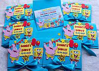 Детские ажурные пригласительные на детский день рождения, годик ручной работы