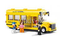 Игровой конструктор школьный автобус Sluban
