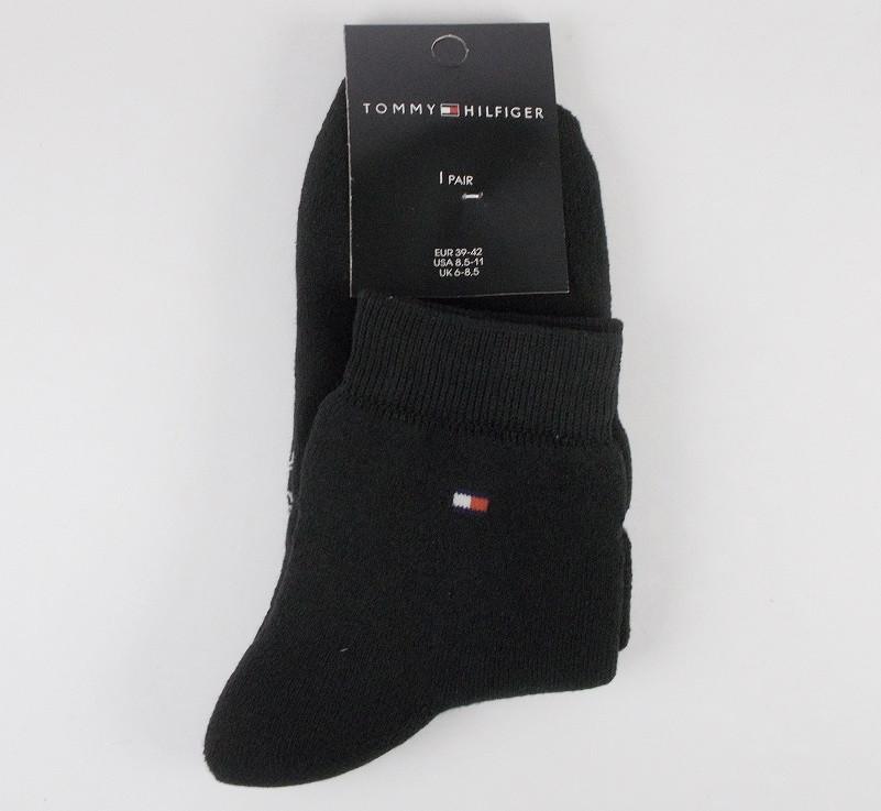 Носки теплые с махрой Турция TH размер 39-42 черные