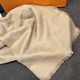 Хустку, шаль, палантин Луї Вітон з люрексом, якістю ААА, фото 2