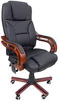 Офисное кресло операторское для персонала с массажем Bonro 8005 кресло руководителя для офиса черное
