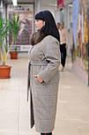 Зимнее женское удлиненное пальто с песцом Ricco Эрмитаж, фото 3
