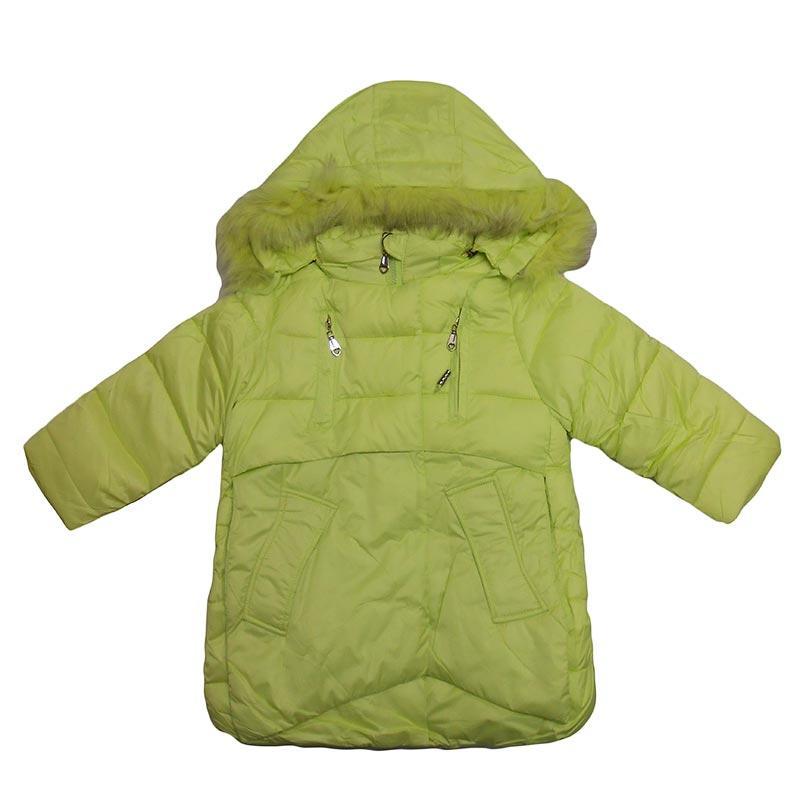 Куртка для девочки р.86-110  арт.D-2/6030 синяя,салатовая
