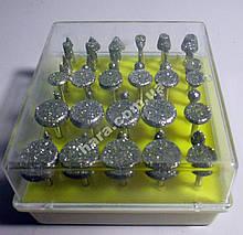 Набор алмазных фрез (50 шт)