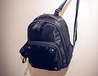 Мини рюкзак с заклепками с кожаной фурнитурой