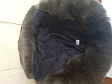 Шапка-ушанка с окантовкой из искусственного меха, фото 9