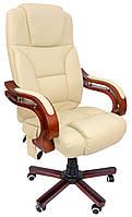 Офисное кресло операторское для персонала с массажем Bonro 8005 кресло руководителя для офиса бежевое