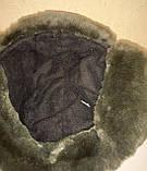 Шапка-ушанка камуфлированная с окантовкой из искусственного меха, фото 4