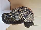 Шапка-ушанка камуфлированная с окантовкой из искусственного меха, фото 5