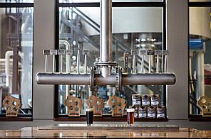 Пивная колонна Крафт - индивидуальный дизайн для баров ресторанов mBev Украина