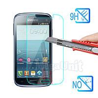 Защитное стекло для экрана Samsung Galaxy Core i8262/i8260 твердость 9H, 2.5D (tempered glass)
