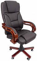 Офисное кресло операторское для персонала Bonro 8005 кресло руководителя для офиса эко кожа коричневое