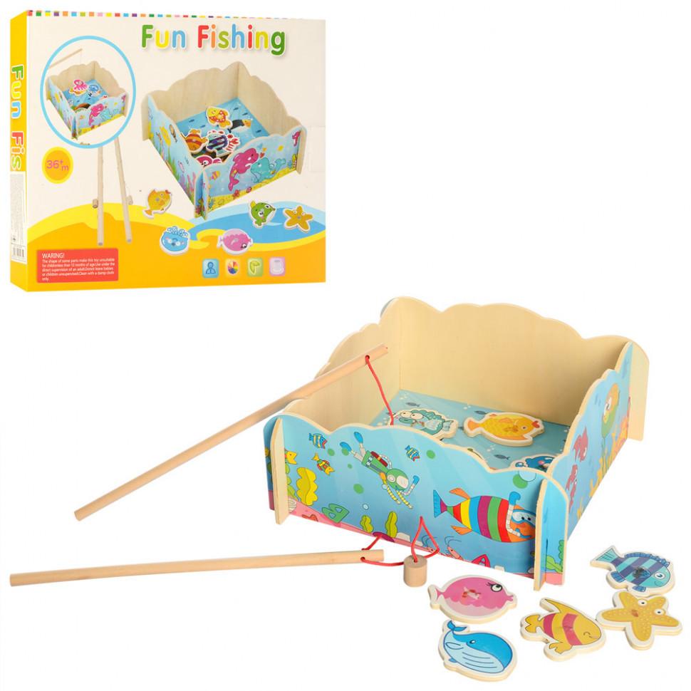 Деревянная игрушка Рыбалка MD 2400