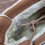 Ботинки женские зимние коричневые, фото 3