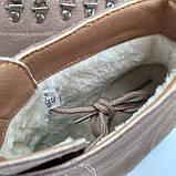 Ботинки женские зимние коричневые, фото 4