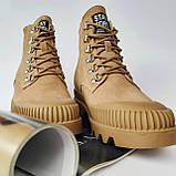 Ботинки женские зимние коричневые, фото 5