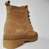 Ботинки женские зимние коричневые, фото 7