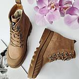 Ботинки женские зимние коричневые, фото 6