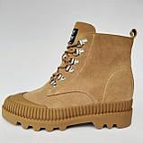 Ботинки женские зимние коричневые, фото 9