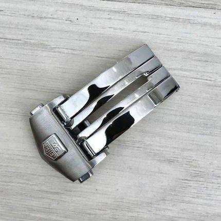 Застежка Таг Хауер ( Хоер)  18 mm Silver, фото 2