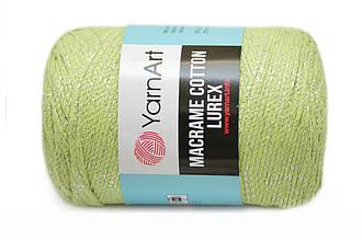 YarnArt Macrame Cotton Lurex, Салат №726