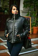 Куртка женская на синтепоне в большом размере, фото 1