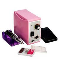 Профессиональный фрезер для маникюра и педикюра ZS-701, 65 Ватт, 50000 об., розовый