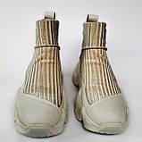 Ботинки женские демисезонн беж Tomfrie 27114, фото 5