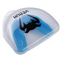 Капа для бокса детская-подростковая боксерская одночелюстная VENUM Венум Термопластик Синий (VH-3D)