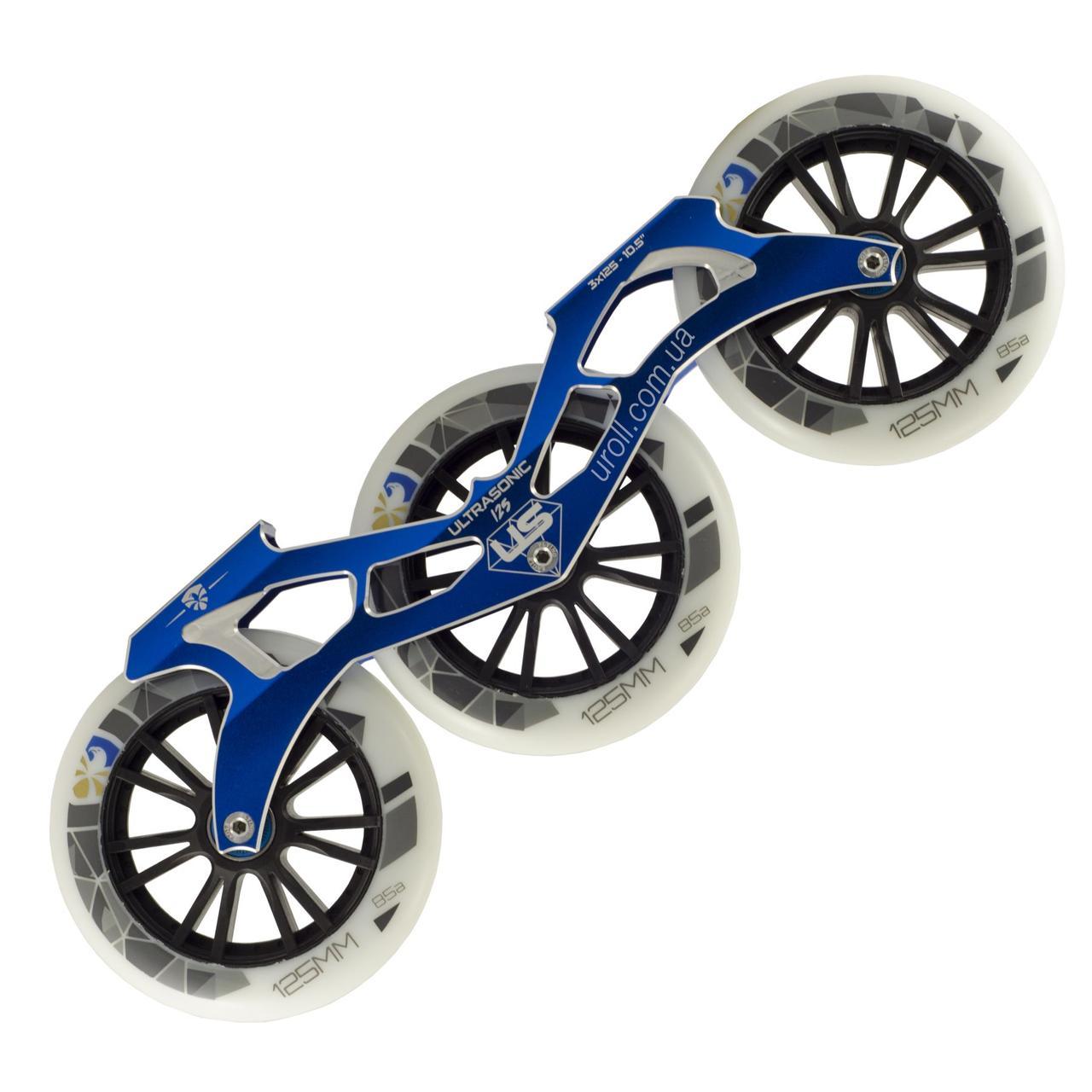 Сет Flying Eagle Ultrasonic Blue + Speed Wheels 85A 125 mm