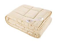 """Зимнее одеяло из овечьей шерсти 195х215 """"DELAINE"""" микрофибра_шерсть (214877-1)"""