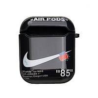 Футляр для Наушников Airpods Glossy Brand Цвет 03, Nike black