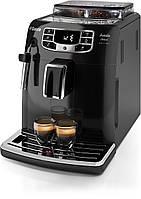 Кофеварка Saeco Intelia Deluxe HD8902/01 Black, фото 1