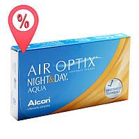 Контактные линзы Air Optix Night&Day Aqua 6 шт