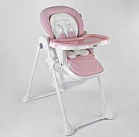 Стульчик для кормления детский складной с корзиной для игрушек съемная столешница от 6 мес Toti W-92005