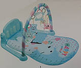 Детский музыкальный развивающий коврик 096-7 с световыми и звуковыми эффектами, 2 вида, фото 2