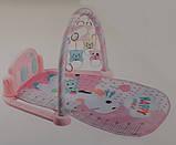Детский музыкальный развивающий коврик 096-7 с световыми и звуковыми эффектами, 2 вида, фото 3